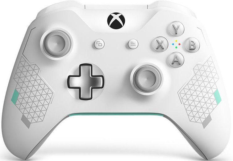 Беспроводной геймпад для Xbox One цвета Sport White с разъемом 3,5 мм и Bluetooth видеоигра для xbox one overwatch origins edition