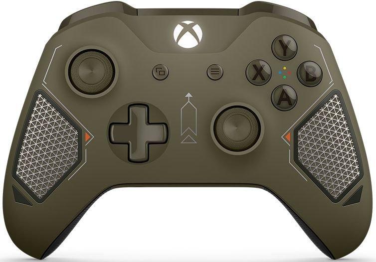 Беспроводной геймпад для Xbox One в раскраске Combat Tech геймпад беспроводной microsoft xbox one wl3 00032 recon tech special edition