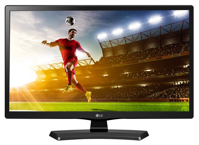 Телевизор LG 20MT48VF-PZ LED 20 Black, 16:9, 1366x768, 1000:1, 230 кд/м2, USB, VGA, HDMI, AV, DVB-T, T2, C, S, S2 2in1 digital microscope camera vga usb outputs 56 led ring light stand holder 8 130x c mount lens for pcb lab repair