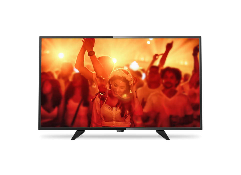 "Телевизор LED 32"" Philips 32PFT4101/60 Full HD черный/FULL HD/200Hz/DVB-T/DVB-T2/DVB-C/USB (RUS)"