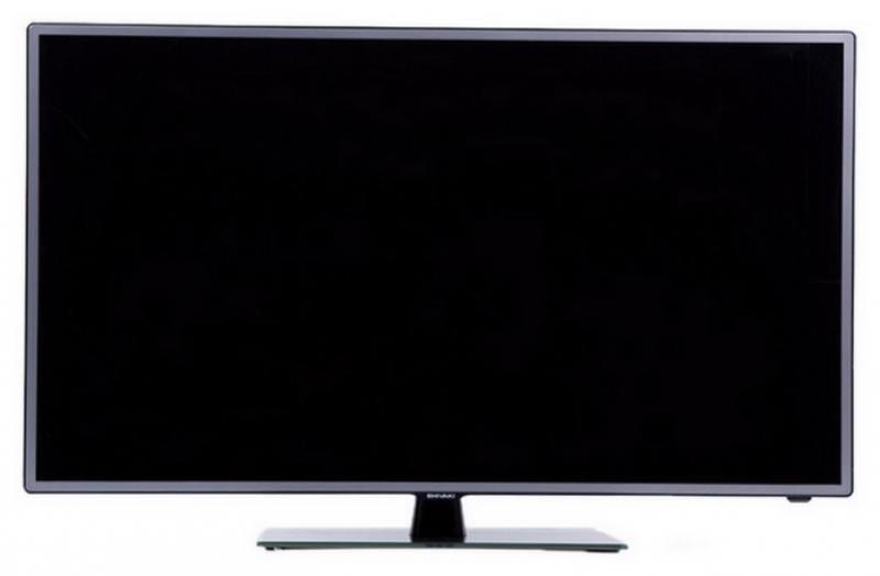 Телевизор SHIVAKI STV-32LED14 LED 32 Black, 16:9, 1366x768, 5000:1, 300 кд/м2, USB, AV, HDMI, VGA, SCART, DVB-T, T2, C, S, S2 телевизор led 20 harper 20r470t черный hd ready dvb t2 hdmi usb vga black 16 9 1366x768 40000 1 180 кд м2 vga hdmi dvb t t2 c