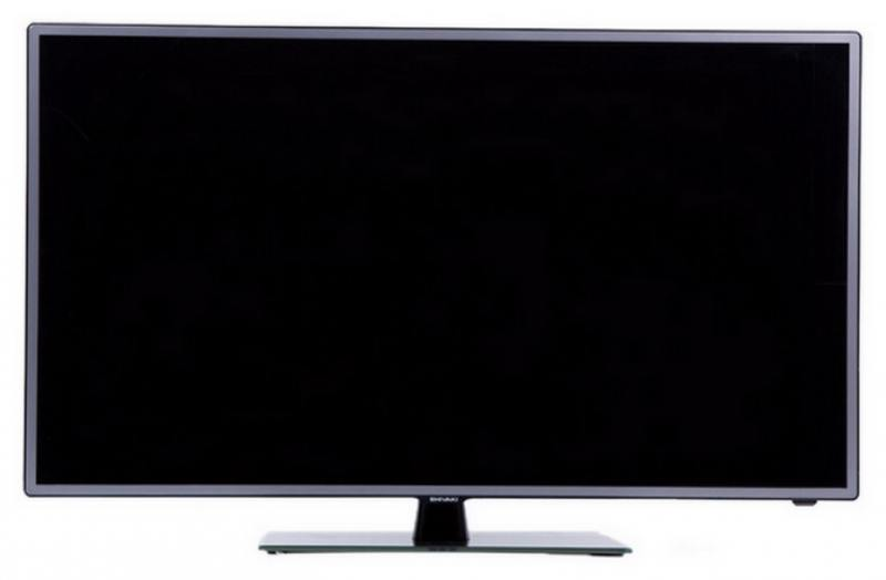 Телевизор SHIVAKI STV-32LED14 LED 32 Black, 16:9, 1366x768, 5000:1, 300 кд/м2, USB, AV, HDMI, VGA, SCART, DVB-T, T2, C, S, S2 barcomax gp5s 28w portable mini lcd projector w hdmi sd slot av vga 3 5mm usb black
