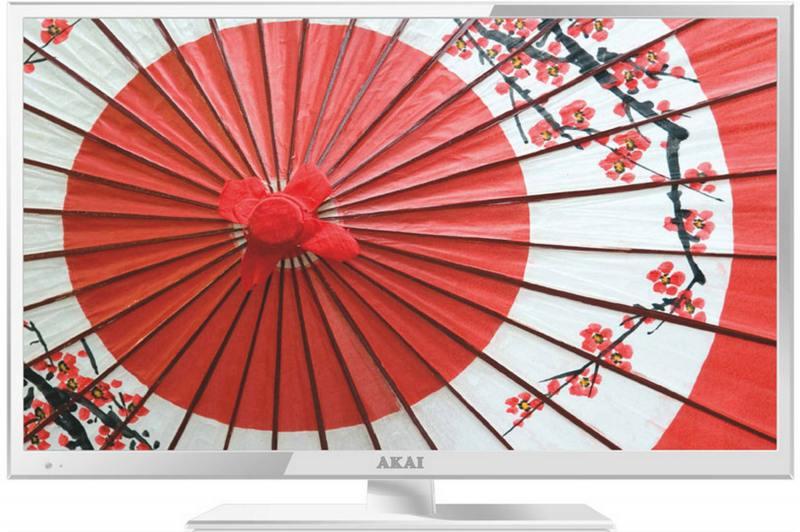Телевизор Akai LEA-24B53W LED 23.6 White, 16:9, 1920x1080, 1000:1, 200 кд/м2, USB, VGA, HDMI, AV, SCART, DVB-T, T2, C, S2 akai mpc 1000 в петербурге