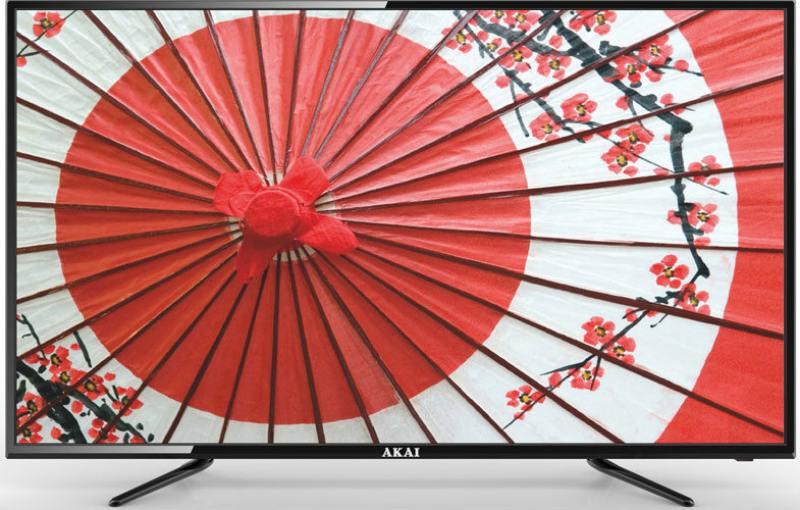 Телевизор 50 Akai LEA-50B56P белый 1920x1080 50 Гц USB SCART VGA S/PDIF телевизор led 32 lg 32lx341c черный 1920x1080 50 гц scart vga s pdif usb