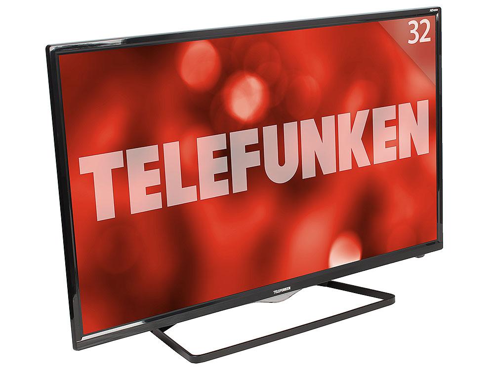 Телевизор TELEFUNKEN TF-LED32S39T2S LED 32 Black, 16:9, 1366х768, 5000:1, 240 кд/м2, 2xUSB, 2xHDMI, AV, WiFi, RJ-45, DVB-T, T2, C t 240
