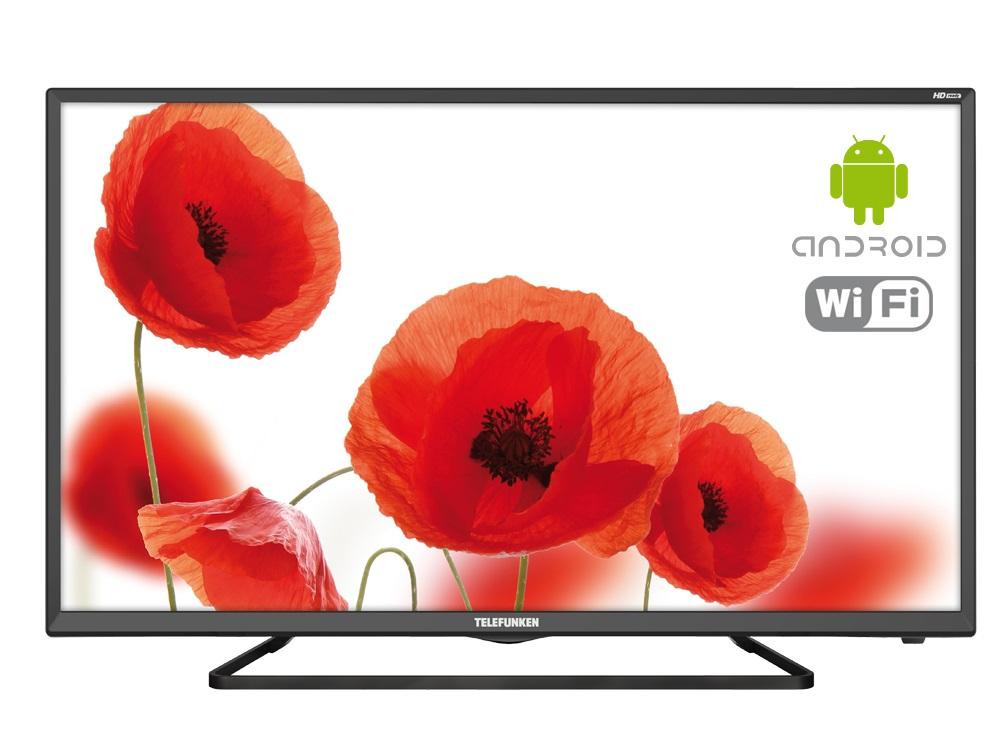 Телевизор LED 32 TELEFUNKEN TF-LED32S52T2S черный/HD READY/50Hz/DVB-T/DVB-T2/DVB-C/USB/WiFi/Smart T smart video door phone intercom 720p wifi doorbell with rfid