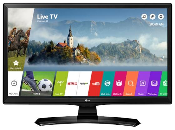 Телевизор LG 28MT49S-PZ LED 28 Black, 16:9, 1366x768, Smart TV, 1000:1, 200 кд/м2, USB, 2xHDMI, AV, DVB-T2, C, S2 телевизор 28 lg 28mt49s pz hd 1366x768 smart tv usb hdmi wi fi черный