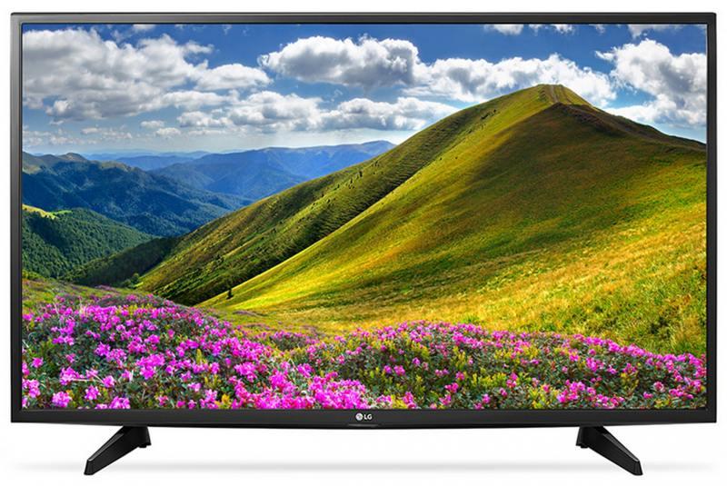 Телевизор LG 49LJ510V LED 49 Black, 16:9, 1920х1080, 2xHDMI, USB, AV, DVB-T2, C, S2 original dvb t satlink ws 6990 terrestrial finder 1 route dvb t modulator av hdmi ws 6990 satlink 6990 digital meter finder