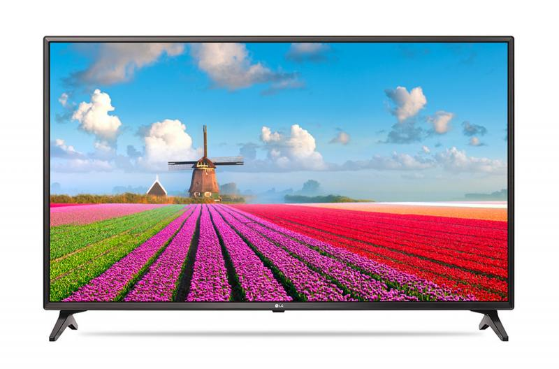 Телевизор LG 49LJ610V LED 49 Black, 16:9, 1920х1080, Smart TV, 3xHDMI, USB, AV, RJ-45, Wi-Fi, DVB-T2, C, S2 телевизор samsung ue65mu6300ux led 65 black 16 9 3840x2160 smart tv usb 3xhdmi av dvb t2 c s2
