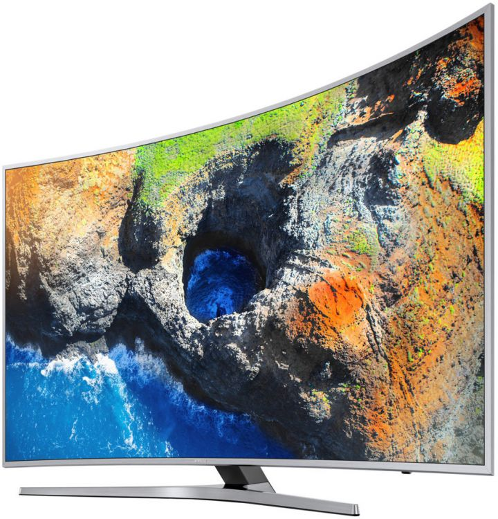 Телевизор Samsung UE55MU6500U LED 55 Silver, 16:9, 3840x2160, USB, RJ-45, HDMI, AV, DVB-T2, C, S2 80 channels hdmi to dvb t modulator hdmi extender over coaxial