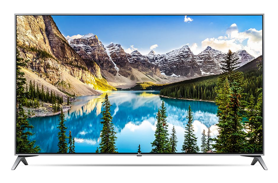 Телевизор LG 49UJ740V LED  Black, 16:, 3840x2160, Smart TV, USB, 4xHDMI, AV, Wi-Fi, RJ-45, DVB-T2, , S2