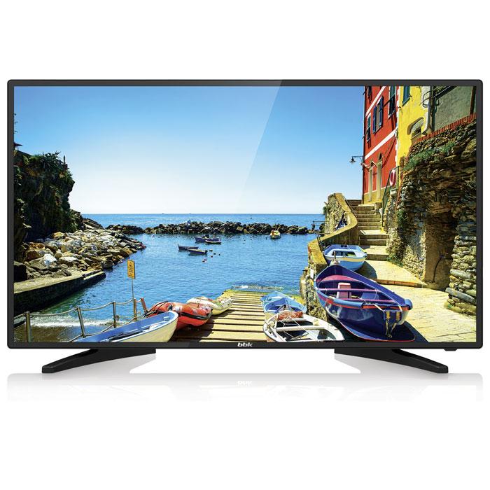 Телевизор BBK 43LEM-1038/FTS2C LED 43 Black, 16:9, 1920x1080, 3000:1, 250 кд/м2, USB, VGA, 2xHDMI, AV, DVB-T, T2, C led телевизор bbk 49lem 1048 fts2c r 49 full hd 1080p черный