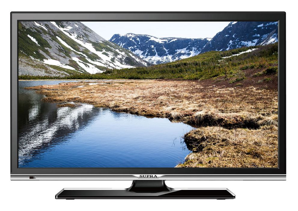 Телевизор Supra STV-LC22LT0010F LED 22 Black, 16:9, 1920x1080, 80000:1, 220 кд/м2, USB, VGA, HDMI, DVB-T2, C led телевизор supra stv lc22t890fl