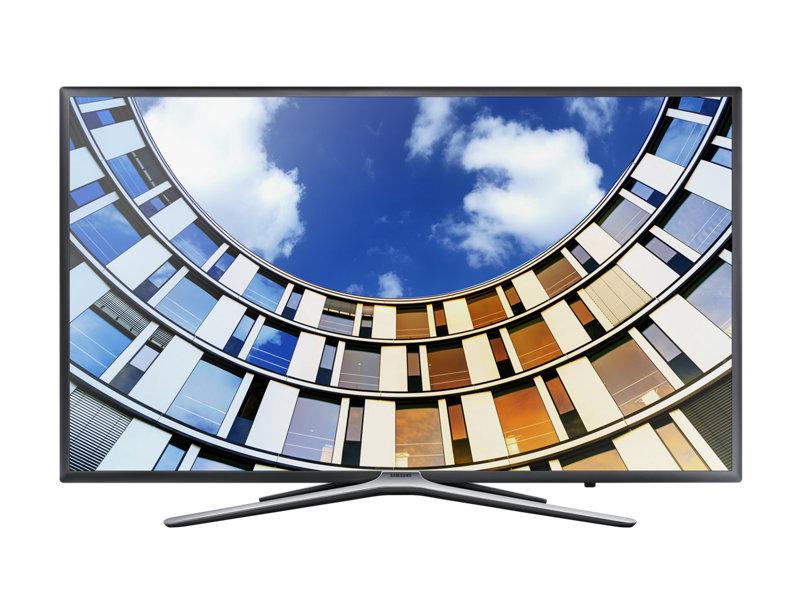 "Телевизор Samsung UE55M5500AUX LED 55"" Black, 16:9, 1920x1080, USB, 3xHDMI, Smart TV, DVB-T, T2, C, S, S2"