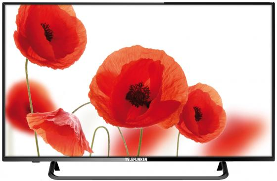 "Телевизор Telefunken TF-LED43S59T2 LED 43"" Black, 16:9, 1920x1080, 5000:1, 260 кд/м2, USB, VGA, 3xHDMI, AV, DVB-T, T2, C"