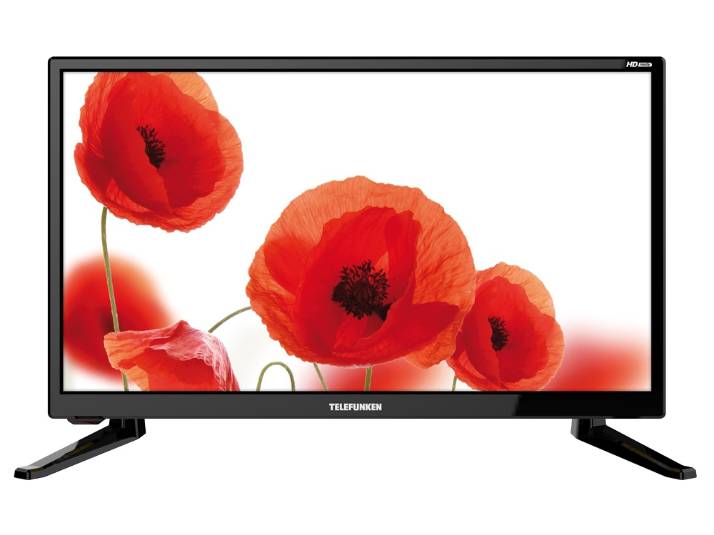 Телевизор Telefunken TF-LED19S64T2 LED 19 Black, 16:9, 1366x768, 3000:1, 200 кд/м2, USB, VGA, HDMI, S/PDIF, DVB-T, T2, C wide angle digital 1 3mp cmos car dvr camcorder w hdmi tf black silver 2 0 tft lcd