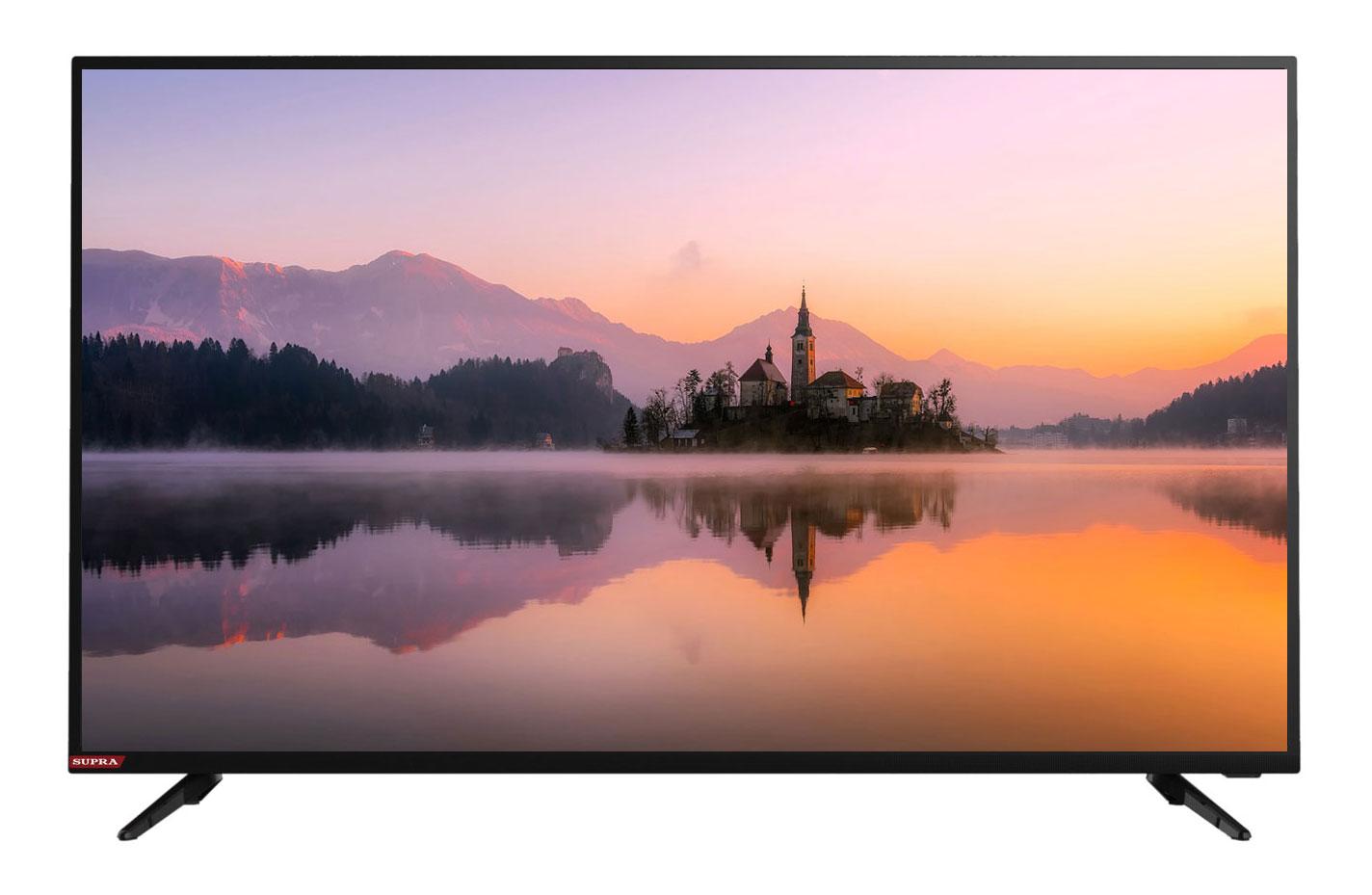 Телевизор Supra STV-LC32LT0020W LED 32 Black, 16:9, 1366x768, 100000:1, 260 кд/м2, USB, VGA, 3xHDMI, AV, DVB-T2, C жк телевизор supra 32