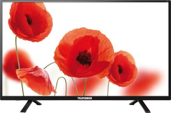 Телевизор Telefunken TF-LED39S57T2 LED 39 Black, 16:9, 1366x768, 5000:1, 250 кд/м2, USB, VGA, 2xHDMI, AV, DVB-T, T2, C телевизор supra stv lc22lt0010f led 22 black 16 9 1920x1080 80000 1 220 кд м2 usb vga hdmi dvb t2 c