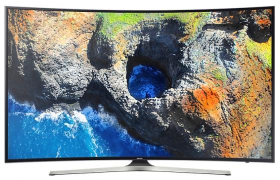 Телевизор 65 Samsung UE65MU6300UX черный 3840x2160 50 Гц Wi-Fi Smart TV RJ-45 Bluetooth телевизор led 43 tcl led43d2930us черный 3840x2160 60 гц wi fi smart tv vga rj 45 bluetooth