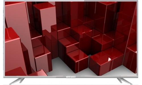Телевизор SHIVAKI STV-49LED16 LED 49 Silver, 16:9, 1920x1080, 3000:1, 250 кд/м2, 2xUSB, VGA, 3xHDMI, SCART, AV, DVB-T, T2, C, S2 телевизор sony kdl 32we613 led 32 black 16 9 1920x1080 2xusb 2xhdmi av scart rj 45 wi fi dvb t t2 c