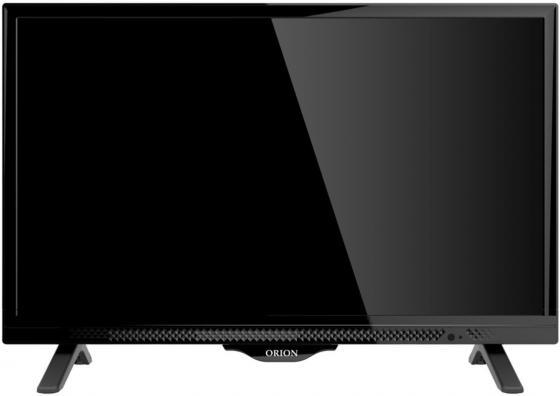 Телевизор Orion OLT-24502 LED 24 Black, 16:9, 1366x768, 80000:1, 240 кд/м2, USB, 2xHDMI телевизор supra stv lc22lt0010f led 22 black 16 9 1920x1080 80000 1 220 кд м2 usb vga hdmi dvb t2 c