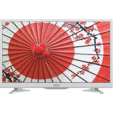 Телевизор Akai LEA-24A65W LED 23.6 White, 16:9, 1366x768, 1000:1, 190 кд/м2, AV, USB, HDMI, SCART, VGA, DVB-T, T2, C akai mpc 1000 в петербурге