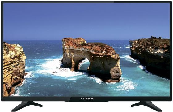 Телевизор Erisson 32LEA20T2 LED 32 Black, 16:9, 1366x768, Smart TV, 1000:1, 240 кд/м2, 2xUSB, VGA, 3xHDMI, SCART, DVB-T, T2, C full set 13mp hmid vga outputs industry microscope camera stand 130x c mount 56 led rings for smart phone pcb repair