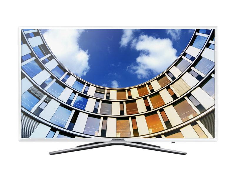 Телевизор Samsung UE43M5513AUX LED 43 White, 16:9, 1920x1080, AV, 2xUSB, 3xHDMI, RJ-45, WiFi, Cl+, DVB-T2, C, S2 телевизор samsung ue55mu6500u led 55 silver 16 9 3840x2160 usb rj 45 hdmi av dvb t2 c s2