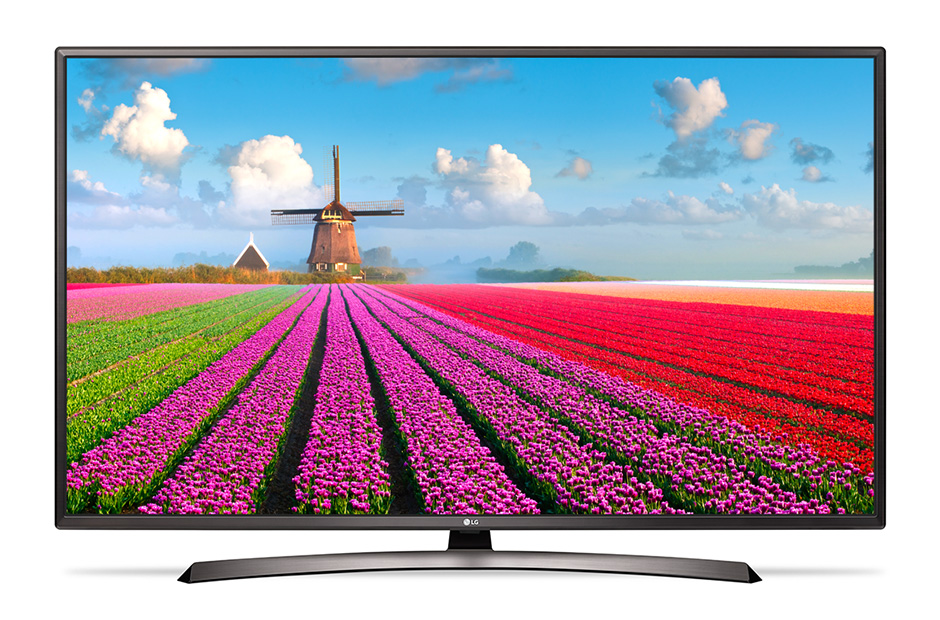 "Телевизор LG 49LJ622V LED 49"" Black, 16:9, 1920x1080, USB, HDMI, AV, RJ-45, WiFi, Smart TV, DVB-T2, C, S2"