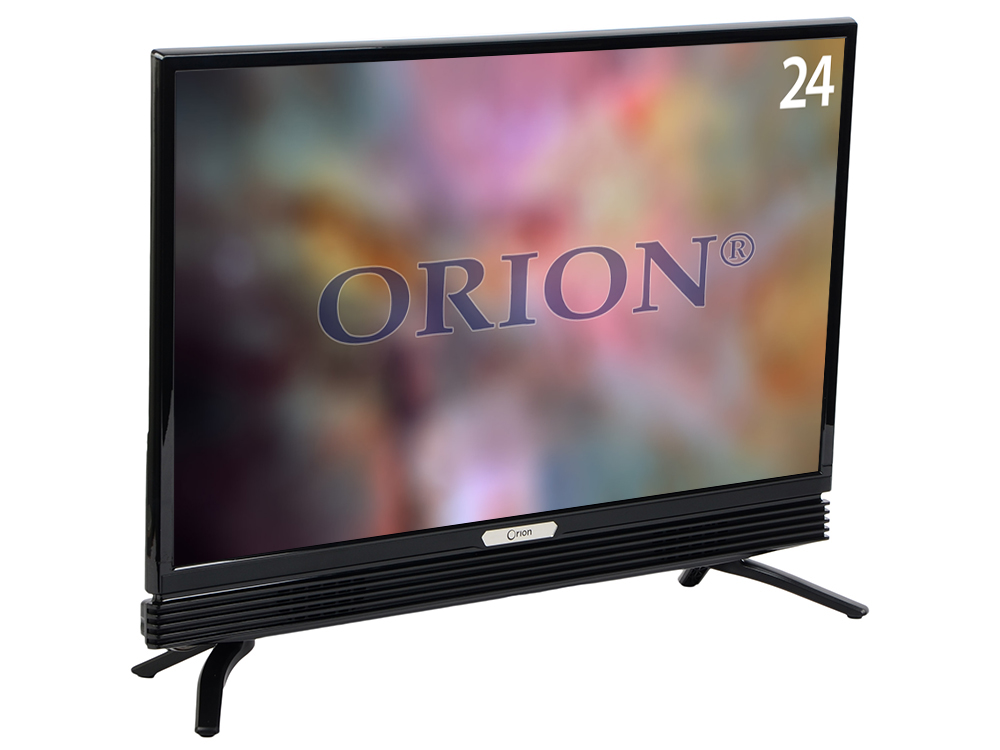 Телевизор ORION PT-60ZHK-110 LED 24 Black, 16:9, 1366х768, 60000:1, 220 кд/м2, USB, VGA, HDMI wansen pt 16gy 16 channels wireless radio flash trigger set w 2 receivers black