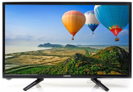 Телевизор LED 22 Harper 22F470T черный 1920x1080 HDMI USB SCART VGA