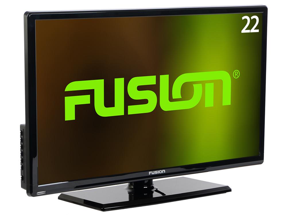 Телевизор Fusion FLTV-22C100T LED 22 Black, 16:9, 1920x1080, 80 000:1, 200 кд/м2, USB, VGA, HDMI, DVB-T, T2, C 80 channels hdmi to dvb t modulator hdmi extender over coaxial