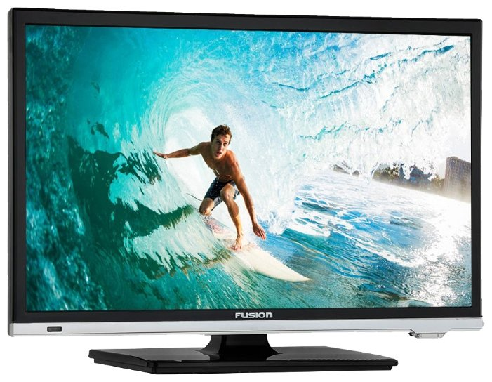 Телевизор Fusion FLTV-22N100T LED 22 Black, 16:9, 1920x1080, 80 000:1, 200 кд/м2, USB, VGA, HDMI, DVB-T, T2, C 80 channels hdmi to dvb t modulator hdmi extender over coaxial