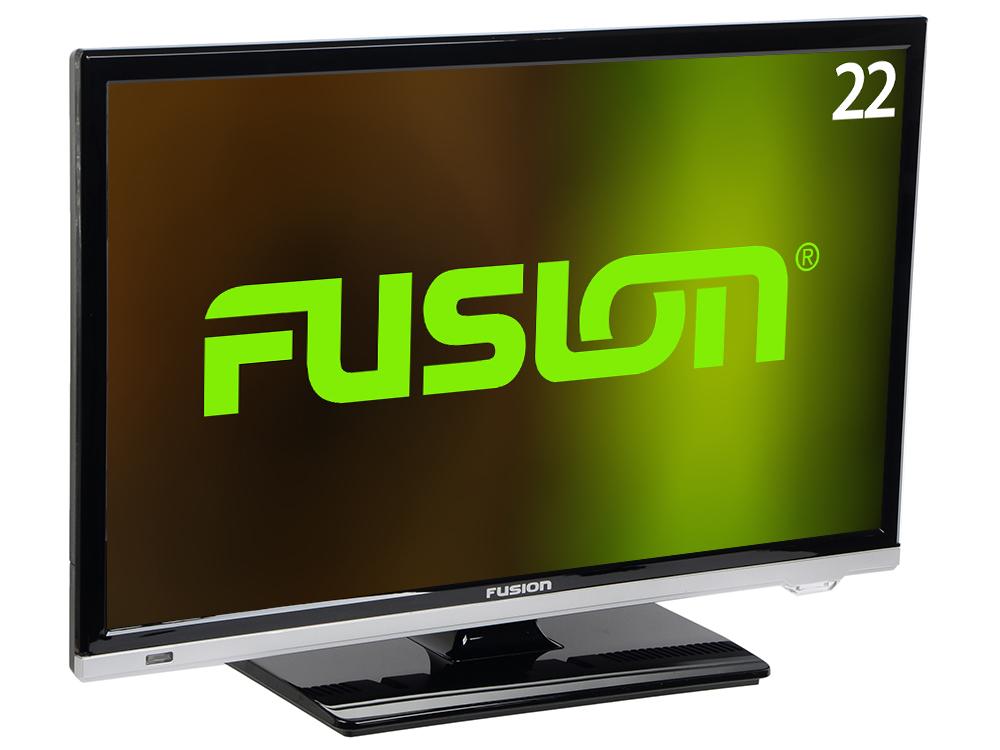 Телевизор Fusion FLTV-22N100T LED 22 Black, 16:9, 1920x1080, 80 000:1, 200 кд/м2, USB, VGA, HDMI, DVB-T, T2, C подвесной светильник fusion 9 f008 22 n