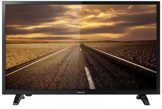 Телевизор ORION PT-60ZHK-100CT LED 24'' Black, 16:9, 1366x768, USB, HDMI, AV, DVB-T2, C 80 channels hdmi to dvb t modulator hdmi extender over coaxial