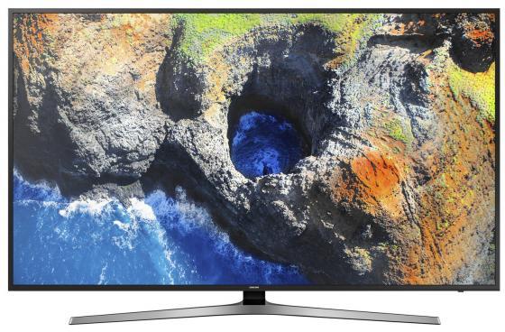 Телевизор LED 75 Samsung UE75MU6100UX черный 3840x2160 100 Гц Wi-Fi Smart TV RJ-45 телевизор led 43 tcl led43d2930us черный 3840x2160 60 гц wi fi smart tv vga rj 45 bluetooth