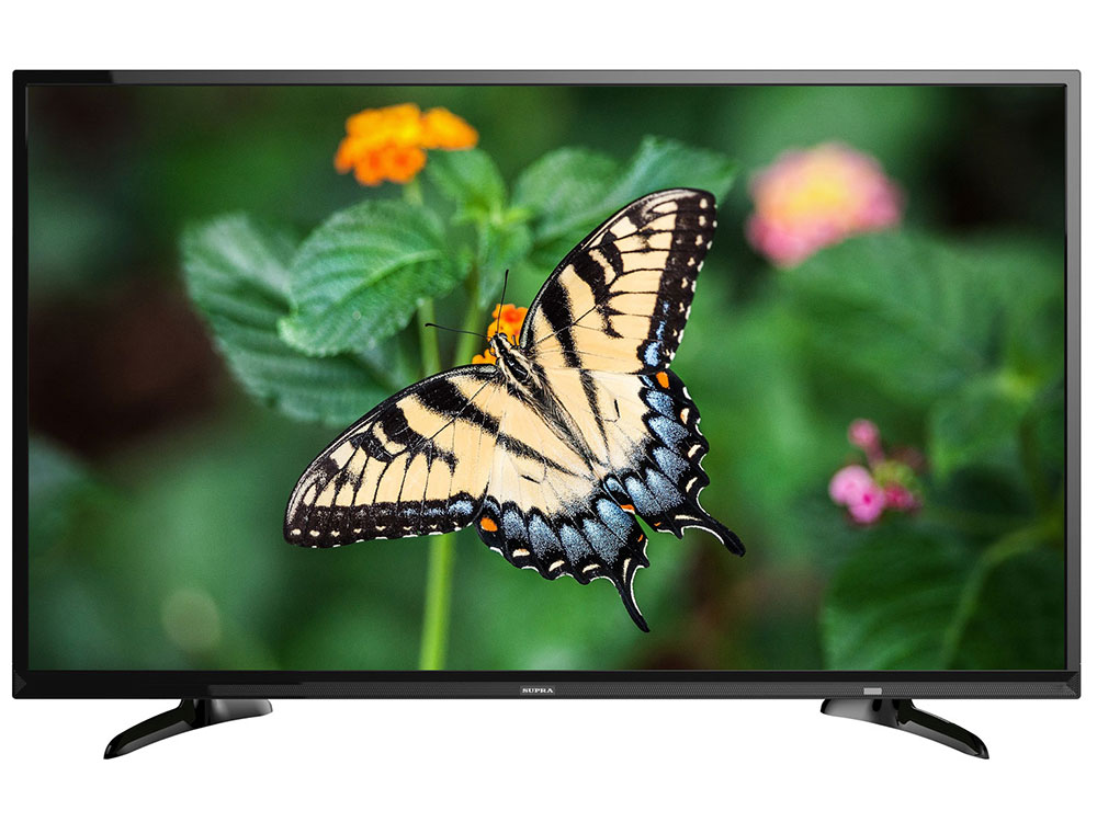 Телевизор Supra STV-LC40ST1000F LED 40 Black, 16:9, 1920x1080, 260 кд/м2, USB, HDMI, CI+, Телетекст, Smart TV led телевизор supra stv lc40st900fl black