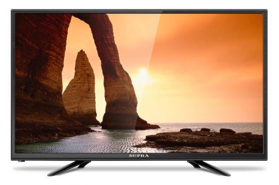 Телевизор Supra STV-LC24LT0010W LED 24 Black, 16:9, 1366x768, 60000:1, 220 кд/м2, USB, HDMI, VGA supra stv lc32t840wl