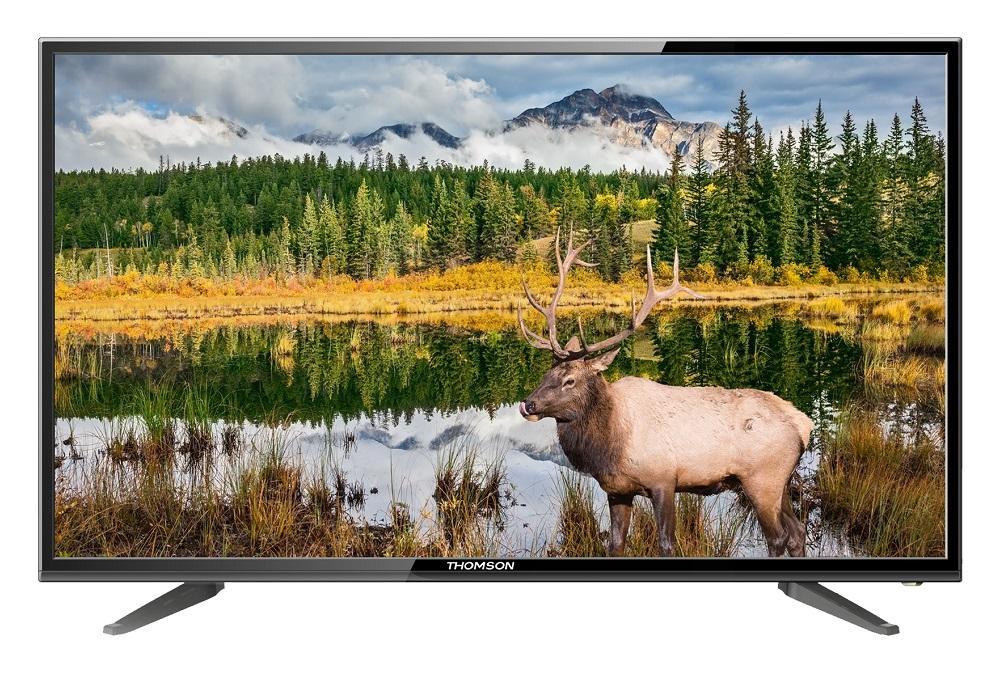 Телевизор Thomson T39RSE1050 LED 39 Black, 16:9, 1366x768, 3000:1, 250 кд/м2, USB, VGA, HDMI, AV, DVB-T, T2, C, S, S2 телевизор led 28 harper 28r661t белый hd ready dvb t2 hdmi usb vga white 16 9 1366x768 60000 1 200 кд м2 vga hdmi dvb t t2 c