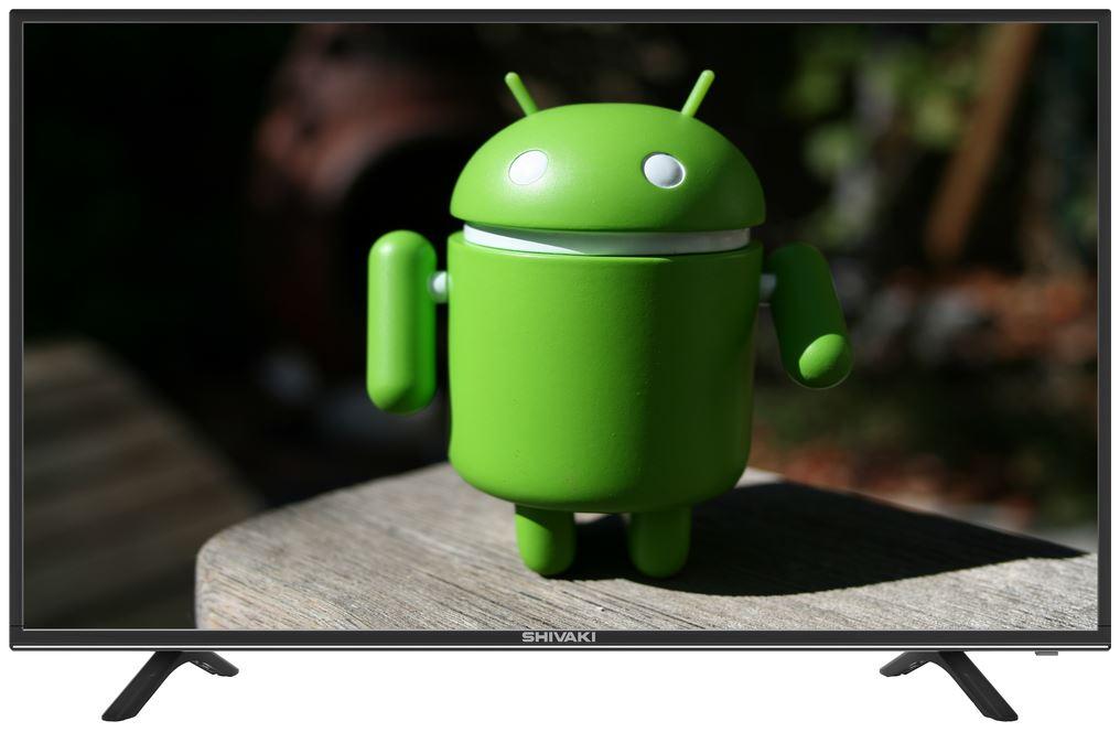 Телевизор SHIVAKI STV-43LED18S LED 43 Black, 16:9, 1920x1080, 4000:1, 240 кд/м2, USB, HDMI, AV, DVB-T, T2, C, S, S2 t 240
