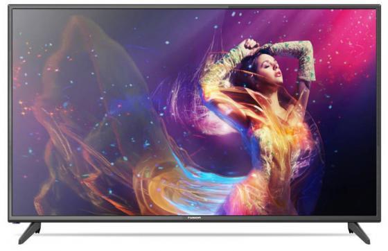 цена на Телевизор FUSION FLTV-50B100T LED 50'' Black, 16:9, 1920x1080, 100000:1, 300 кд/м2, USB, 2xHDMI, AV, DVB-T2, C