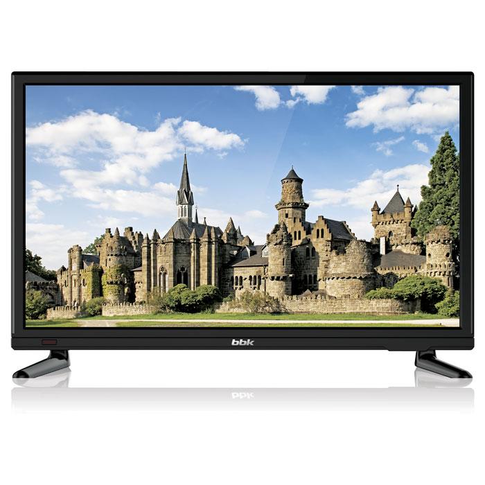 Телевизор LED 20 BBK 20LEM-1046/T2C черный Black, 16:9, 1366x768, 600:1, 180 кд/м2, VGA, HDMI, DVB-T, T2, C телевизор bbk 20lem 1029 t2c