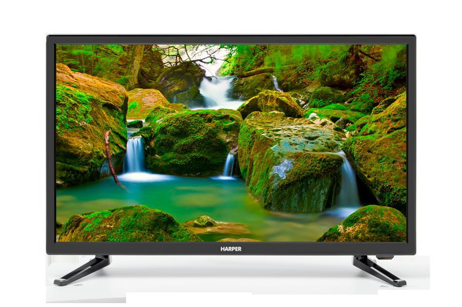 Телевизор LED 24 Harper 24F470T Черный, Full HD, DVB-T2, HDMI, USB, VGA Black, 16:9, 1920x1080, 50000:1, 220 кд/м2, SCART, VGA, HDMI, DVB-T, T2, C телевизор harper 50f660t led 50 black 16 9 1920x1080 120000 1 270 кд м2 usb vga 3xhdmi av dvb t t2 c