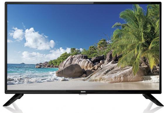 """Телевизор LED BBK 32LEM-1045/T2C LED 32"""" Black, 16:9, 1366х768, 3000:1, 250 кд/м2, USB, 3xHDMI, AV, DVB-T, T2, C, S, S2"""