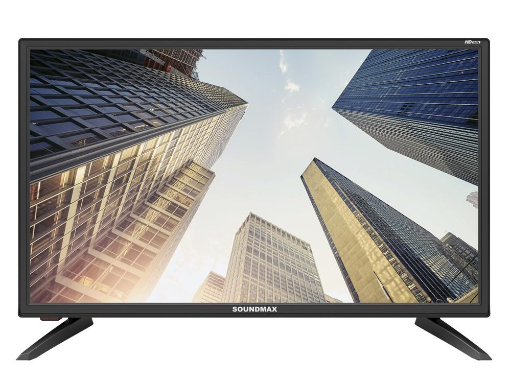 Телевизор LED 24 Soundmax SM-LED24M01 Черный led телевизор erisson 40les76t2