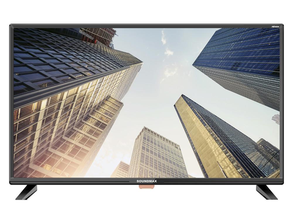 Телевизор LED 32 Soundmax SM-LED32M02 Черный led телевизор erisson 40les76t2