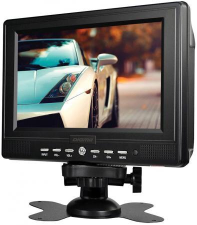 Автомобильный телевизор Digma DCL-700 7 черный автомобильный телевизор digma dcl 1020 10 1 черный