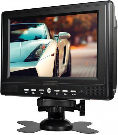 Автомобильный телевизор Digma DCL-720 7 черный автомобильный телевизор digma dcl 1020 10 1 черный