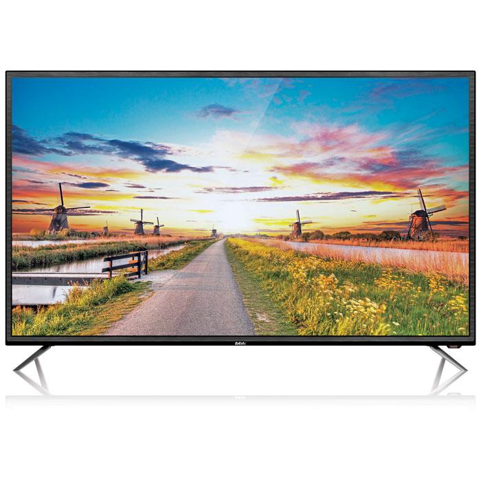 Телевизор BBK 50LEX-5027/FT2C LED 50 Black, 16:9, 1920x1080, Smart TV, 5000:1, 250 кд/м2, USB, VGA, 3xHDMI, AV, DVB-T, T2, C телевизор led 40 bbk 40lex 5027 t2c черный 1366x768 50 гц wi fi smart tv vga rj 45