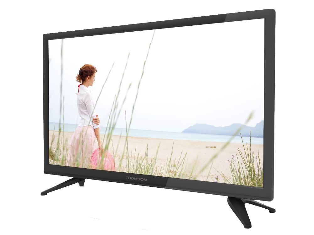 Телевизор LED 28 Thomson T28RTE1020 Черный, HD Ready, DVB-T2, HDMI, USB original dvb t satlink ws 6990 terrestrial finder 1 route dvb t modulator av hdmi ws 6990 satlink 6990 digital meter finder